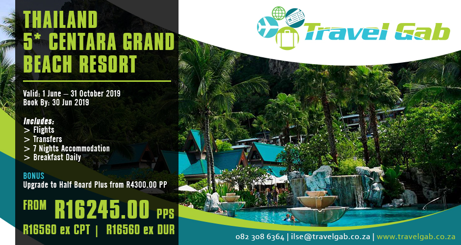 THAILAND 5* CENTARA GRAND BEACH RESORT KRABI